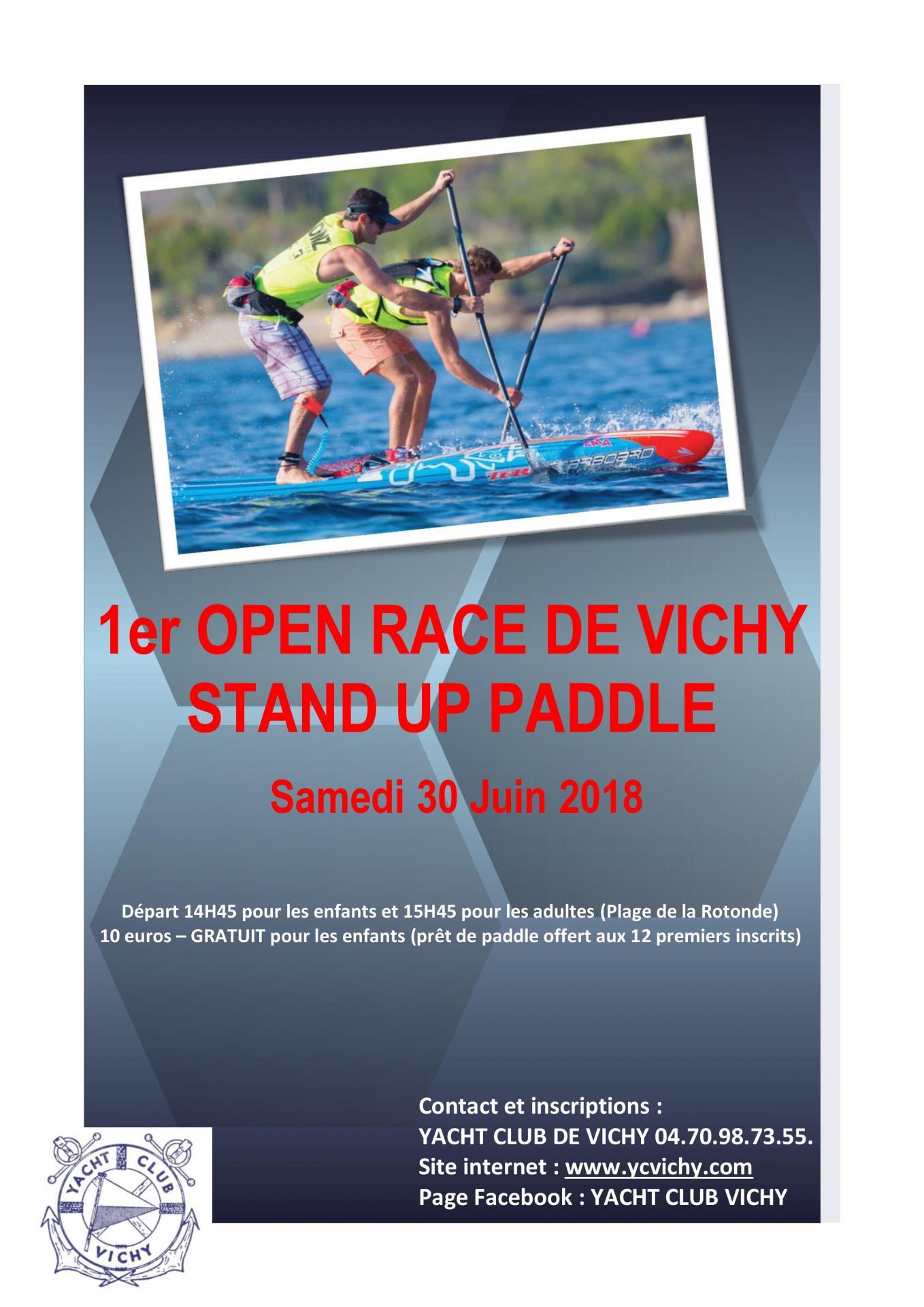 Affiche open race 2018