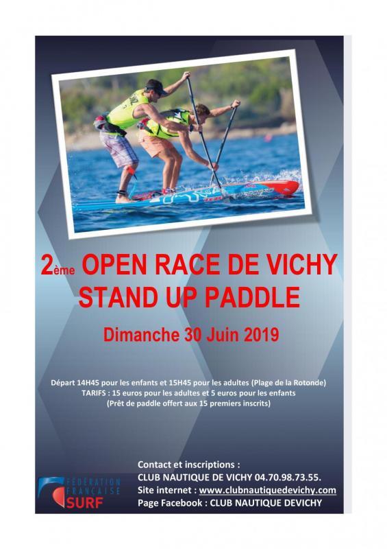 Affiche open race 2020