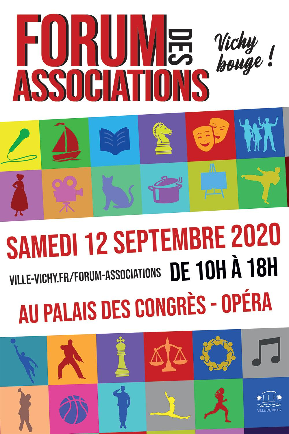 Forum associations vichy 2020