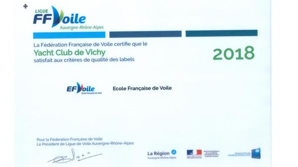 Label efv 2018
