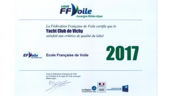Label ffvoile 2017