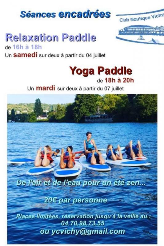 Yoga paddle